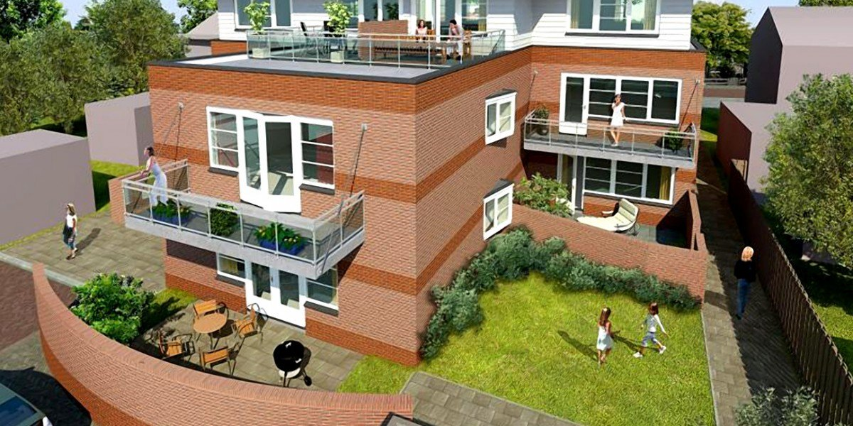 15 appartementen Wormer WAM Groep
